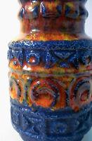 60s 70s Bay Keramik 14 cm Vase Bodo Mans ceramic west german fat lava pottery