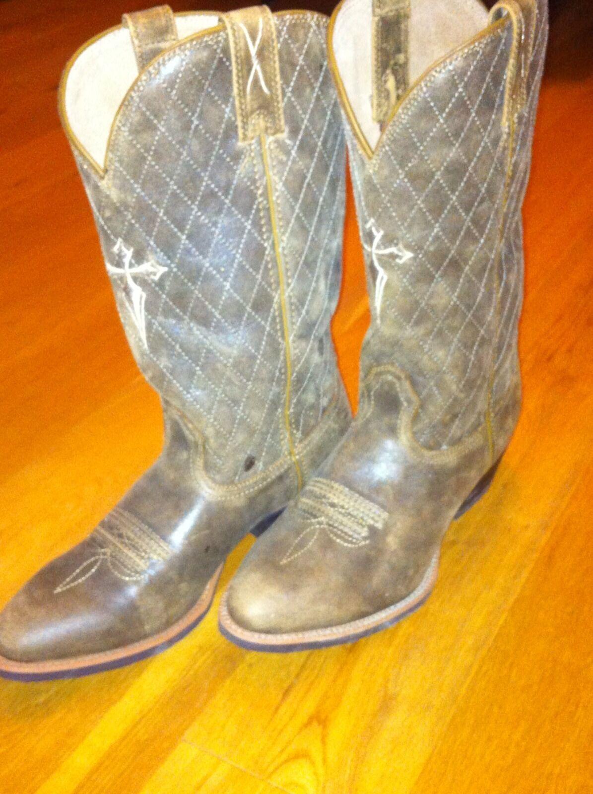 NUOVI Stivali Da Cowboy TWISTED-US consigliato 8D X/EU 41 prezzo consigliato TWISTED-US Nuovo di Zecca  fatto a mano b0cee9