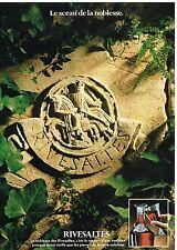 Publicité Advertising 1981 Vin aperitif Rivesaltes