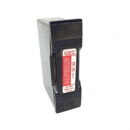 Fuse transporteur SC32 GEC safeclip 32A 550VAC sc32-550v