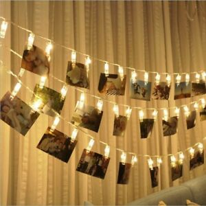10-20-LED-Photo-Peg-Clip-Fairy-String-Light-Wedding-Hanging-Picture-Photo