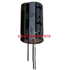 10000uF 25V 105'C, Radial Electrolytic Capacitor, Nichicon, UVZ1E103MRD