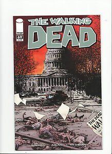 Image Comics WALKING DEAD #69 HIGH GRADE Near Mint 2006 1st App of Alexandria