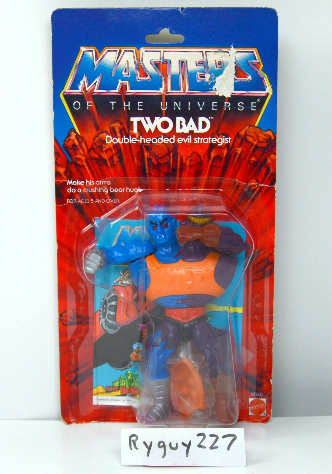 MOTU, Two Two Two Bad, Masters of the Universe, MOC, carded, sealed, figure, He-Man 290c5f