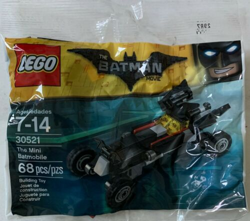 Le mini Batmobile LEGO BATMAN DC Super Heroes #30521 2017 en Sac véhicule