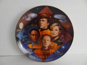 Starfleet Security  Star Trek 30 Year Plate  Hamilton Collection