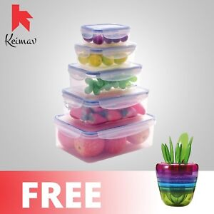 Keimavlock-10-Pc-Airtight-Food-Storage-with-Coffee-and-Fruits-Plant-Tools