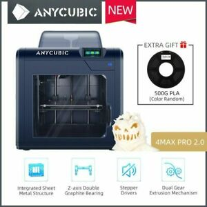ANYCUBIC 4Max Pro 2.0 Imprimante 3D Printer Enclosed Printing 270mm×210mm×190mm
