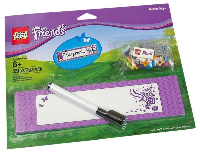 LEGO ® Friends 850591 badge neuf neuf dans sa boîte _ Name Sign NEW En parfait état, dans sa boîte scellée Boîte d'origine jamais ouverte