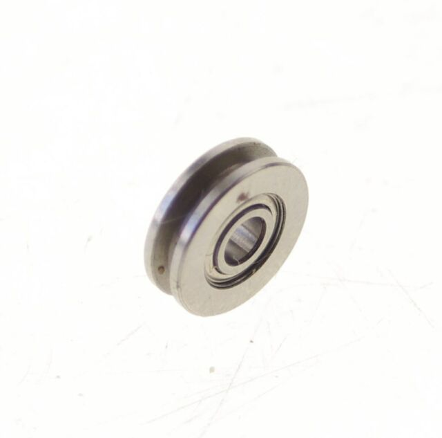 x 35 x 8 mm 6mm  8mm 5mm 10mm U Groove Guide Pulley Sealed Rail Ball Bearing