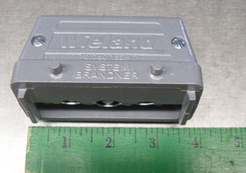 Wieland Connector 70.060.1628.0 Data Cable Feed Through Die Cast Alloy qty 2