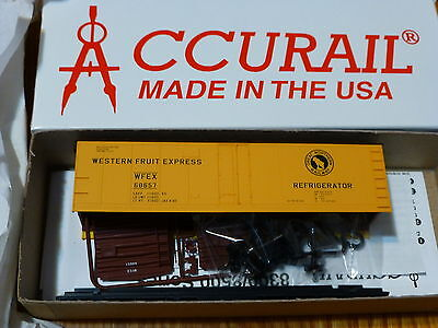 Wfex 40' Steel Reefer Kit Form Accurail Ho #83021 Gn Road #68657 Smoothing Circulation And Stopping Pains