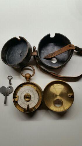 Wächter Control Uhren Fabrik Anton Meyer Stuttgart um 1900 Nachtwächter Uhr