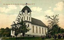 A View of St Aloysius Roman Catholic Church, Livingston Manor NY