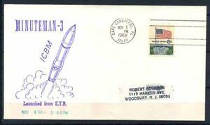 Stati-Uniti-1969-Mi-638-Busta-100-Minuteman-3