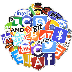 Developer-Programmer-50ps-Stickers-of-Programming-Languages-and-Internet-Brands