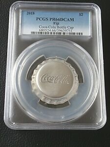 2018-Fiji-Coca-Cola-Coke-Bottle-Cap-1-oz-999-Silver-2-PCGS-PR-66-Deep-Cam-COIN