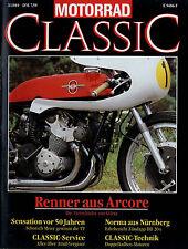 Motorrad Classic 3/89 1989 Zündapp DB 204 Ariel Model C Yamaha XS1 Ducati Mach 1