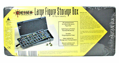 holds 80 figures Large Figure Storage Box SW Chessex SG/_B0786VQ788/_US