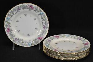 Minton-Printemps-S370-Set-of-6-Bread-amp-Butter-Plates