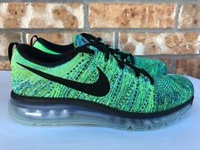 uk availability bea90 1a352 item 5 Men s Nike Flyknit Air Max Running Shoes Black Blue Copa Size 10  620469-009 -Men s Nike Flyknit Air Max Running Shoes Black Blue Copa Size 10  620469- ...