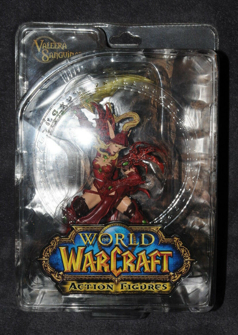 DC World of Warcraft Action Figures Valeera Sanguinar (Serie I) WoW