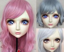 (Zhi)Female Sweet Resin Half Head Kigurumi Cosplay Anime Role Crossdress Mask