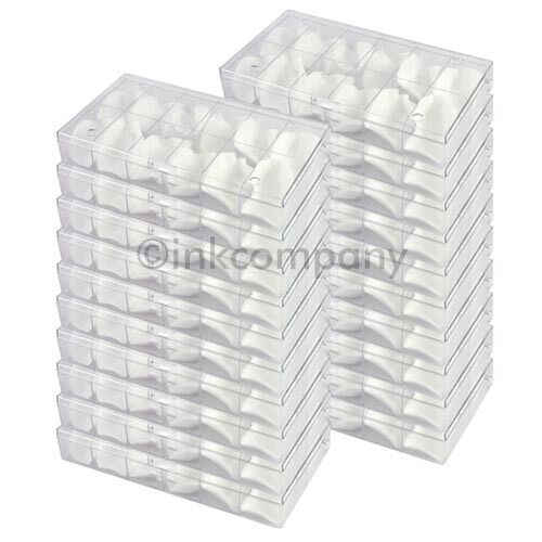 20x 12 Sorting Box Sorting Boxes + Cotton Pads New