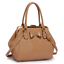 Ladies Classy Fashion Style Faux Leather Handbag Bow Framed Satchel Bag 0258B