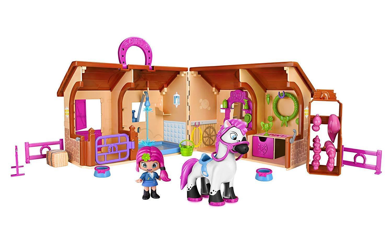 Pinypon Club Equestre  include Bambola Spinotto e Pon Michelle Amazzonia e sua