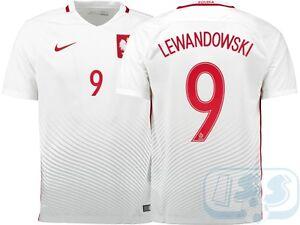 ed35b1a0ba9 Image is loading RPOL15p9-Poland-home-shirt-Euro-2016-jersey-LEWANDOWSKI-