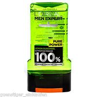 300ml Loreal Men Expert Pure Power Lemon Shower Gel 100% Mens