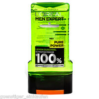 300ml Loreal Men Expert Pure Power Lemon Shower Gel 100% Mens