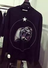 Givenchy Black Monkey Sweater Size L