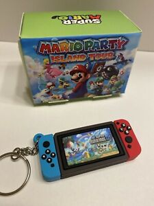 Nintendo switch mini keychain game gift video keyring Super Mario