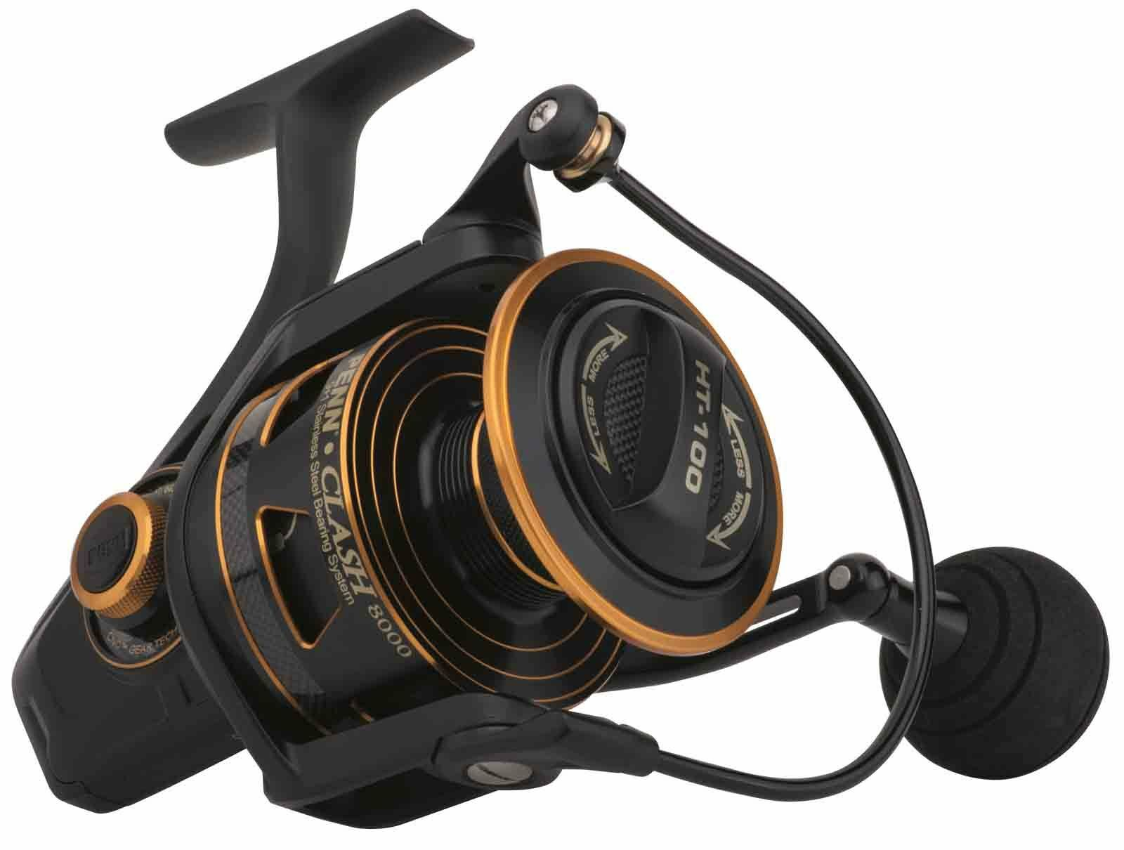 Penn Clash Saltwater Spin  Spinning Sea Fishing Reels - All Models Available  discount sales