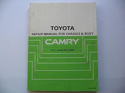 Toyota Camry SV1  Reparaturanleitung Repair Manual original Toyota gebraucht