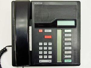 m7208 nortel norstar meridian phone black refurbished with one year rh ebay com nortel phone m7208 user manual Nortel T7100