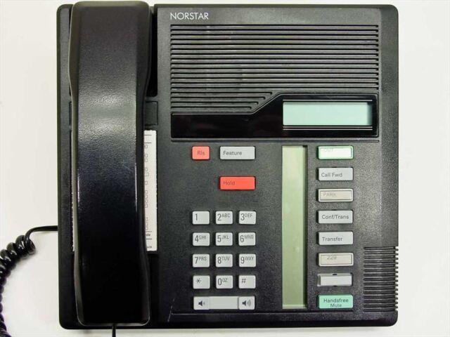 ## NORSTAR NORTEL MERIDIAN NT8B30 M7208  OFFICE BUSINESS TELEPHONE WHITE