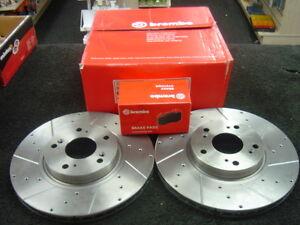 BMW 330 CI e46 3.0i 330 ci 228 drivetec FRONT BRAKE PADS 300 mm for Vented Discs