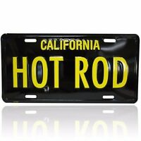 Mooneyes Hot Rod License Plate California Hot Rods Custom Nhra Scta
