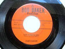 JAZZ BLUES WESTERN SWING C&W 45: JAMES BAKER Low Down Blues *HEAR mp3*