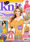 Let's Knit Magazine Issue 94 July 2015 Cardigans Beach Bag Pincushion Pals Lace