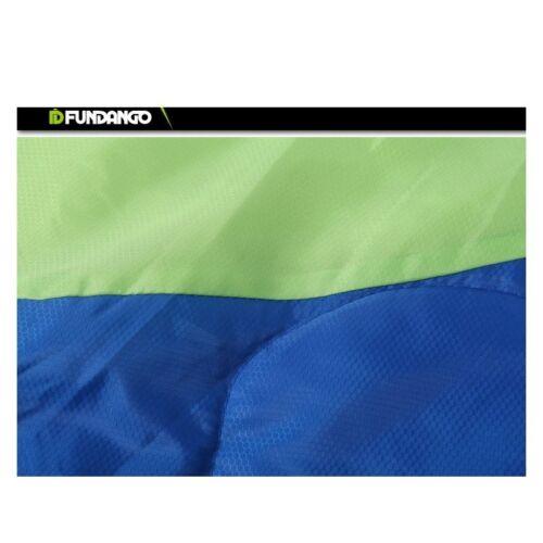 Fundango Garden 200-Couvertures Sac de couchage Vert//Bleu 1000 g