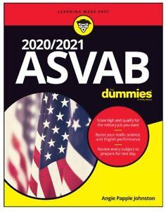 Asvab 2020 2021 For Dummies P D F Ebay