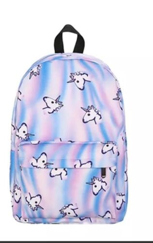 Women Girl unicorn 3D  School Backpack Shoulder Bag Travel