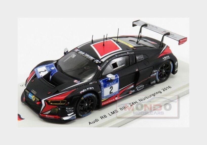 Audi R8 Lms  2 24H Nurburgring 2016 Leonard Frijns E.Sandstrom Spark 1 43 SG238