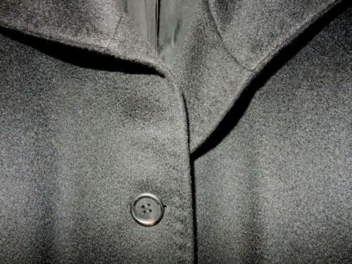 Black 8 Erre Pure Button Cashmire 100 In Italy Usa Fabric 4 ~ Coat Womens Made wqw0v