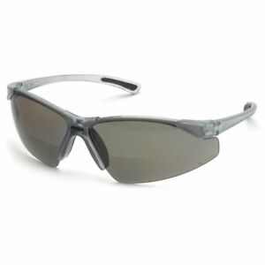 7815fc7ae3 Image is loading Elvex-Rx-200-Bifocal-Safety-Glasses-With-Gray-