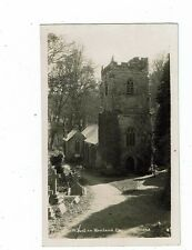 CORNISH POST CARD REAL PHOTO BY HAWKE OF HELSTON ST. JUST IN ROSELAND CHURCH 109